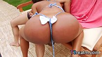 hot ts babe andressa lyra gets assbanged