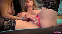 Angela Sommers with Jessica Jaymes eating pussy...