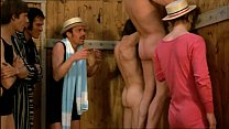 Vintage Threesome Gloryhole - In The Sign of Th...