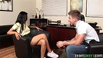 Latin cutie Milla Mason getting rammed by her p...