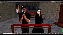 SecondLife Preacher and Megan Fox