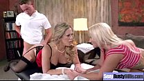 Sex Hard Scene With Horny Bigtits Hot Wife (cal...