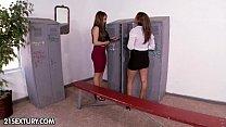 locker room surprise part 1