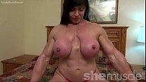 Fbb Lana Topless Flexing