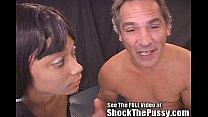 Dr Sparky teaches tiny spinner ebony Lucky a le...
