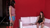smelling foot humiliation - gym the from back Df007-