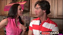 Busty milf Kendra Lust busted couple boning in ...