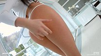 Allinternal Hot girl Tricia Teen chokes on a bi...
