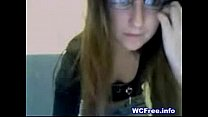 My 18yrs old girfriend very nasty on webcam