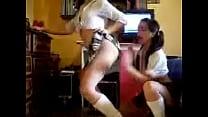 bailando chilenas pulguitas Las