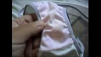 Showing Marya´s dirty panties 003
