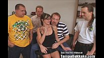 party swallower gangbang slut Glasses