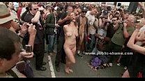 humiliated and walked slut Naked