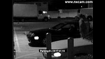 Security Camera Captures Blowjob on Car porn videos