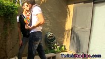 Free trailer greek gay men Dustin Cooper is try...