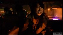 Japanese ghost hunters covert blowjob in car Su...