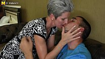 cock hard son's her to love makes mom Skinny
