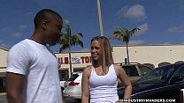 dropper panty shopper window sex and blowjob interracial blonde amateur interracial