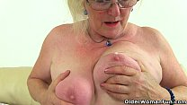 english granny claire knight needs that stuffed…