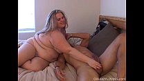 Busty blonde BBW is a super hot fuck and loves a facial cumshot porn videos