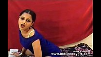 Download Hot Desi Anjana indian girl dance squeezing her boobs on live sex webcam 3Gp Mp4