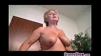 fucked gets europe from grandma Blonde