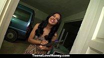 TeensLoveMoney - Hot Latina Fucked For Cash porn videos