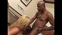 pussy blonde in cock black Massive