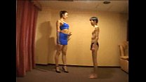 tall japanese   trampling and mixed wrestling