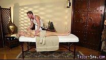 Con teen throat masseur