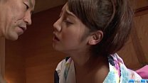manners hot really in drilled wife asian mizuna Rei