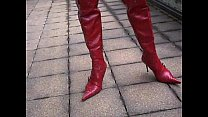 red mini Corset
