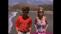 www.cromweltube.com beach- lonely layd sally - rica Costa