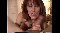 Slutty mature amateur fucks the cameraman