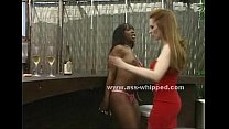 Black woman gets her pussy tortured