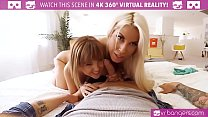 VR PORN-Mom teach her teen daughter how to suck... thumb