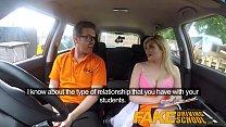 Fake Driving School Posh horny busty examiner s...