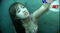 Clip Quay lén Teen xinh đẹp tắm