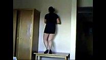 ... piernas buenas minifalda sexy bailando Mamando
