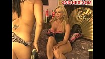 girlfriend young her with blonde Mature