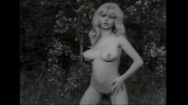 vintage b and w swedish blond with big boobs and hairy pussy dancing