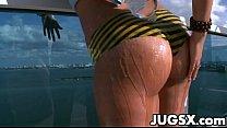 Massive Boobs Babe Jazmyn thumbnail