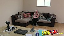 FakeAgentUK Tight amateur pussy causes agents cock to blow porn videos