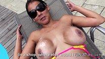 Huge tits girlfriend anal fucked