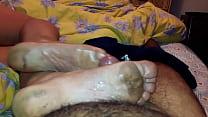 Arabic Married Mature Big Stinky Dirty Soles Cu...