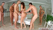 Tina Kay anal gangbang creampie on All Internal part 2