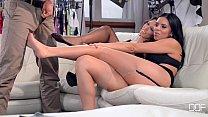 Horny Lingerie models extra fucking hot threesome