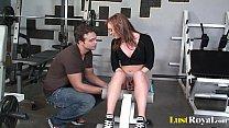 gym sex action featuring slutty dani jensen