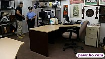 Big butt and big boobs police officer pounded by pawn guy porn videos