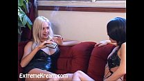 Kream and her two hot lesbian friends having ex...